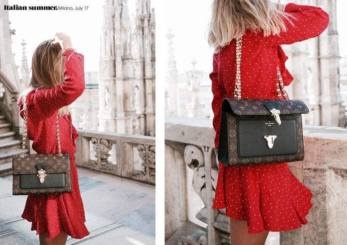 Louis Vuitton Victoire bag